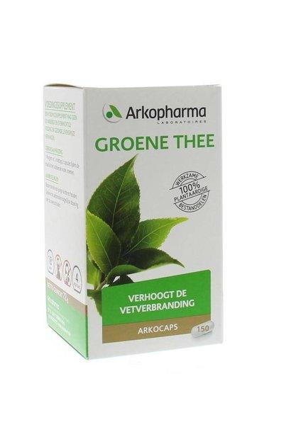 Groene thee 150 capsules