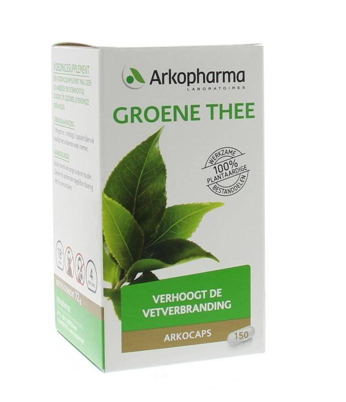 Groene thee 150 capsules-1