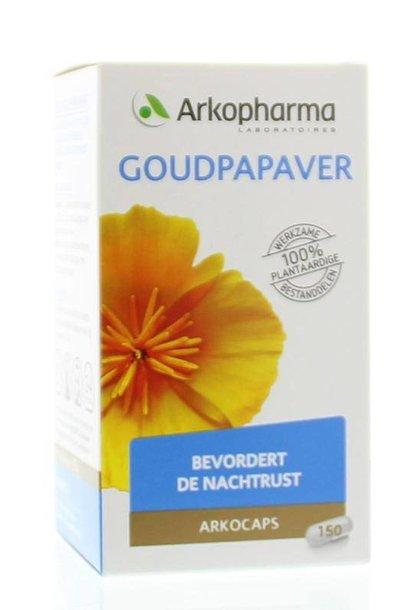 Goudpapaver 150 capsules