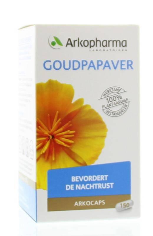 Goudpapaver 150 capsules-1