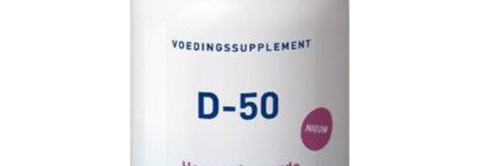 Vitamine D-50 120 tabletten