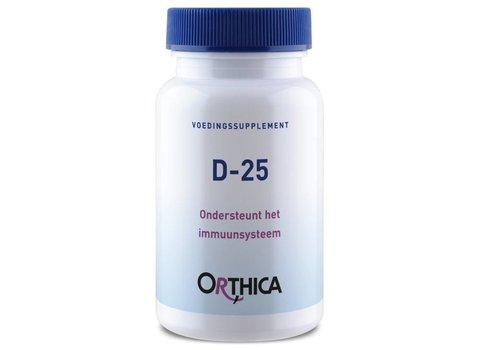 Orthica Vitamine D-25 120 tabletten