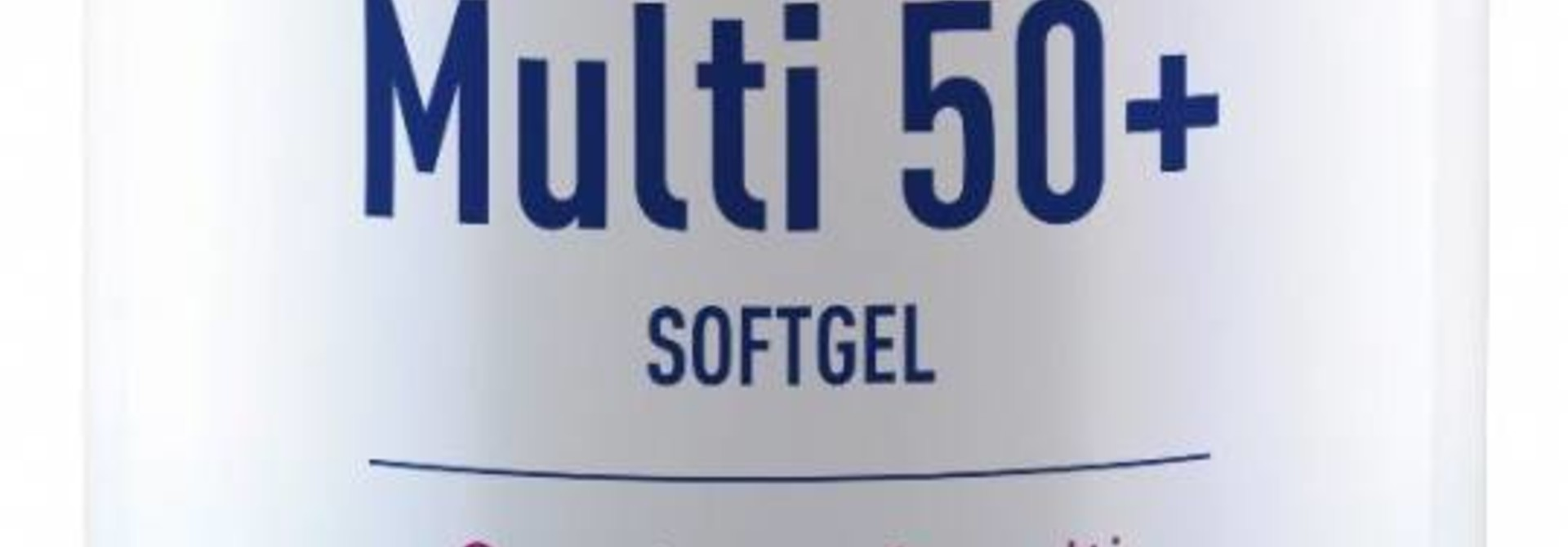 Multi 50+ 60 softgels