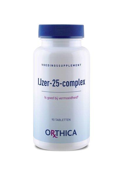 IJzer 25 complex 90 tabletten