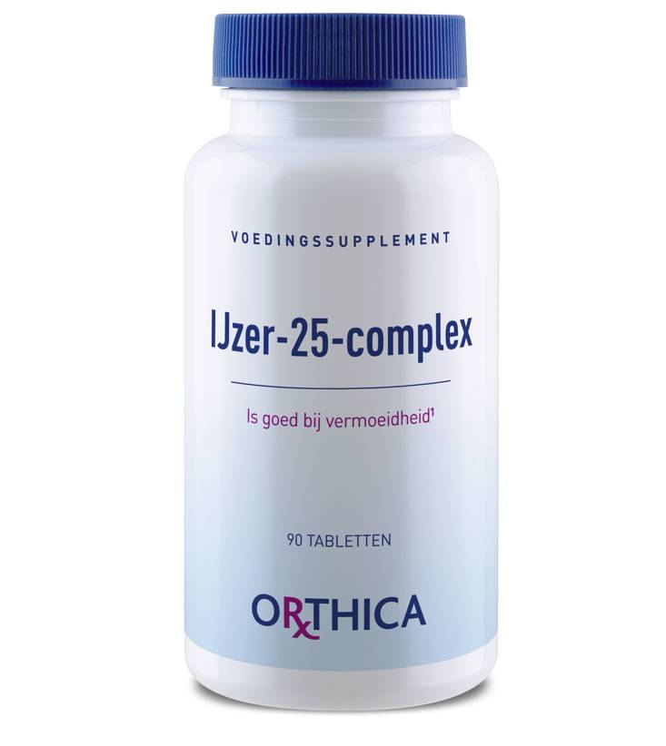 IJzer 25 complex 90 tabletten-1