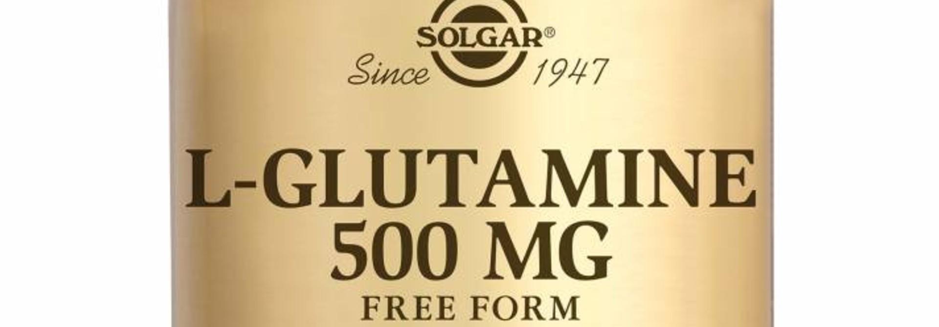 L-Glutamine 500 mg 50 plantaardige capsules