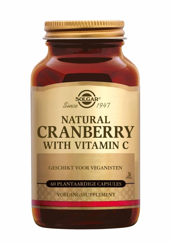 Cranberry with Vitamin C 60 plantaardige capsules-1