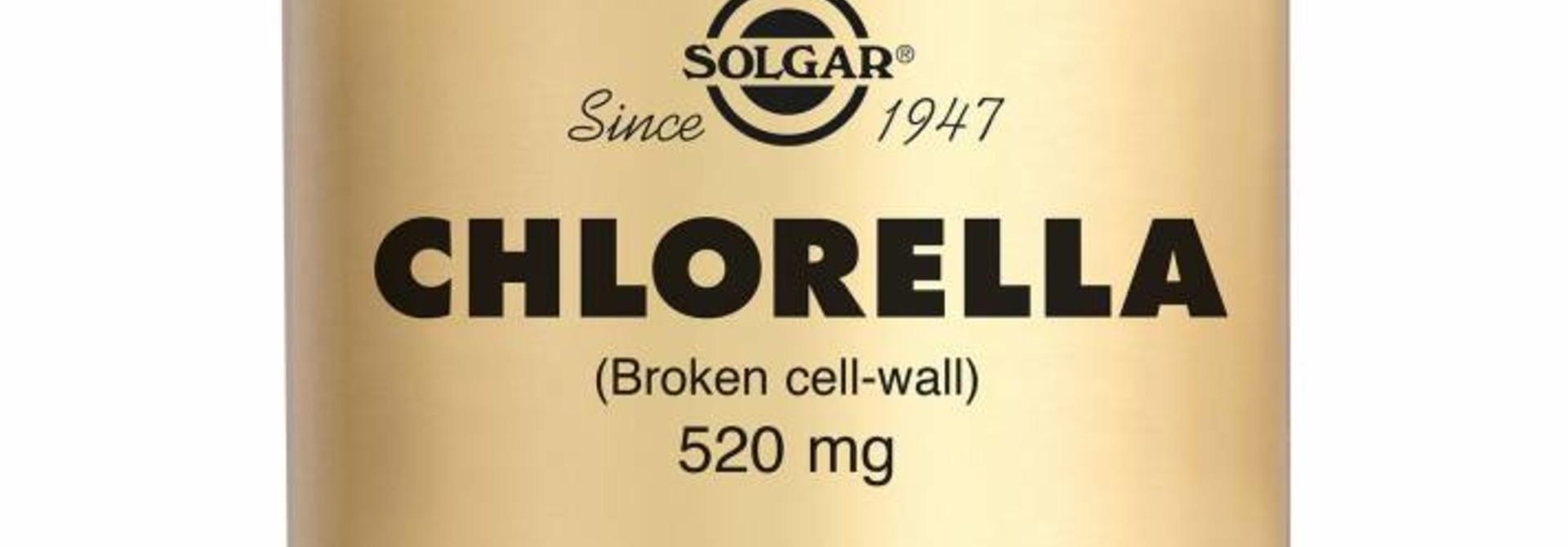 Chlorella 100 plantaardige capsules