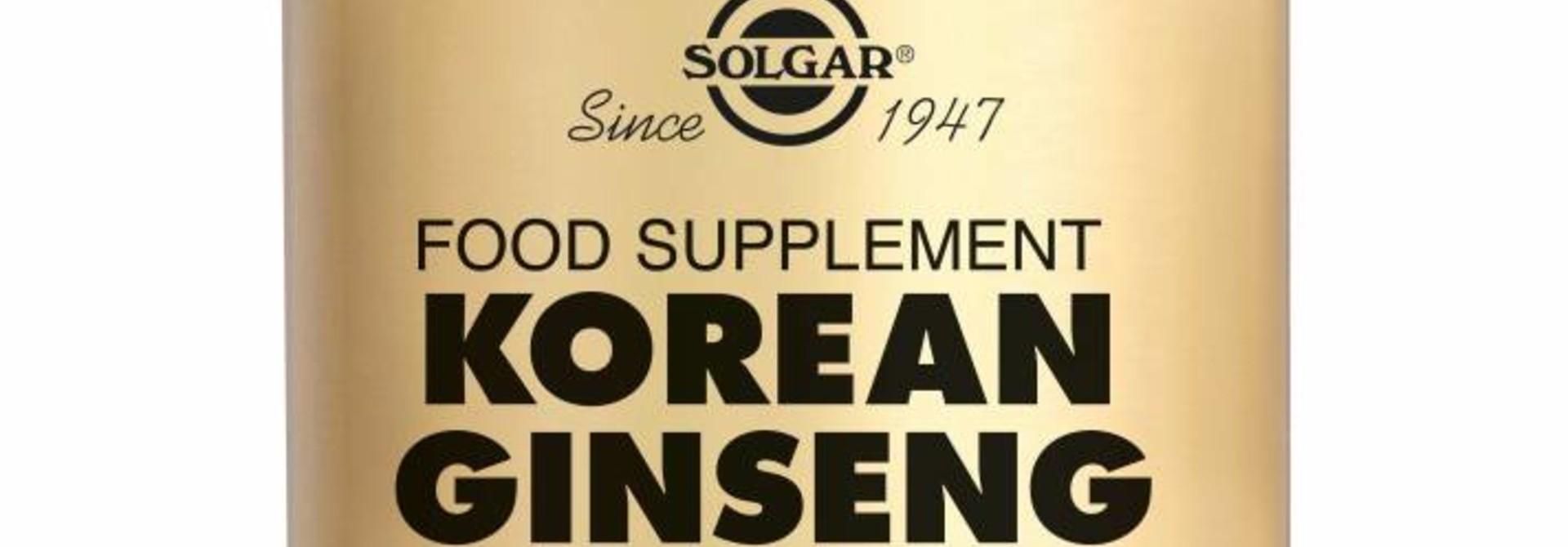 Ginseng Korean 50 plantaardige capsules