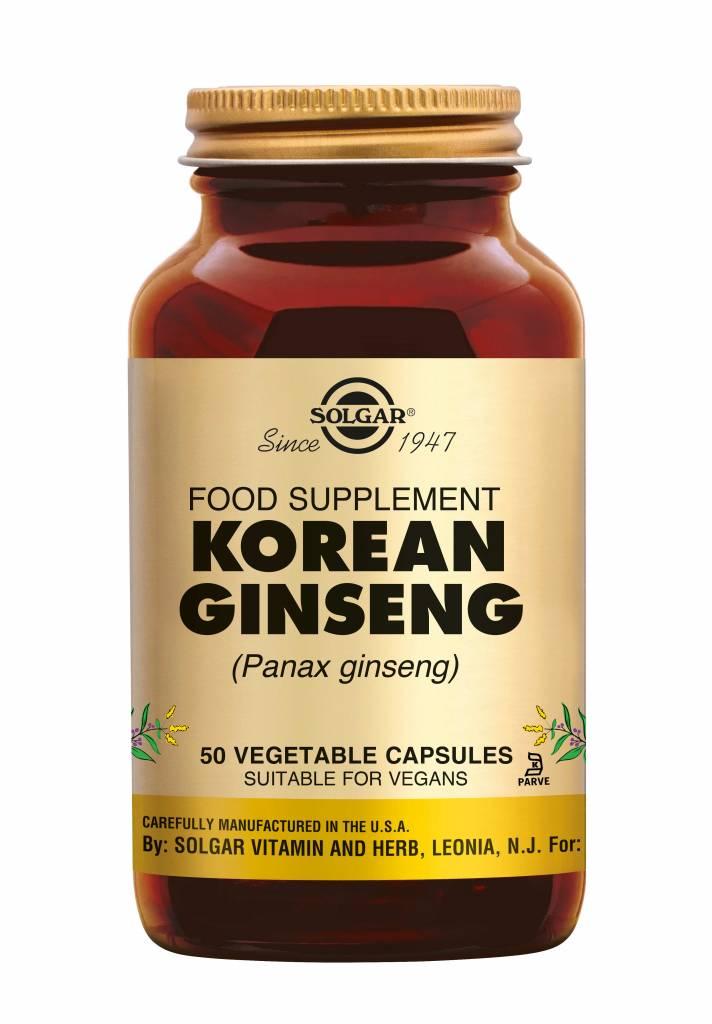 Ginseng Korean 50 plantaardige capsules-1