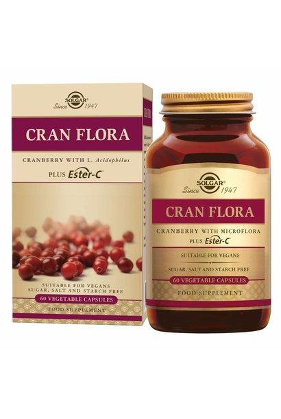 Cran Flora 60 plantaardige capsules