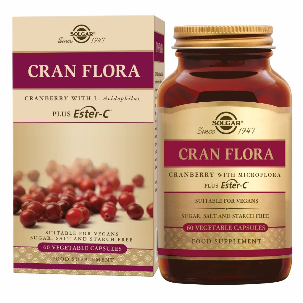 Cran Flora 60 plantaardige capsules-1