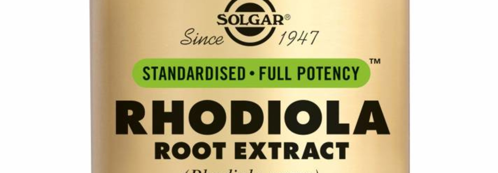 Rhodiola Root Extract 60 plantaardige capsules