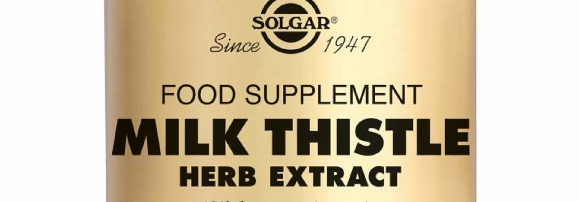 Milk Thistle Herb Extract 60 plantaardige capsules