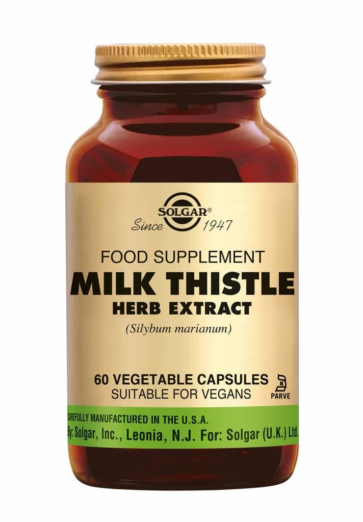 Milk Thistle Herb Extract 60 plantaardige capsules-1