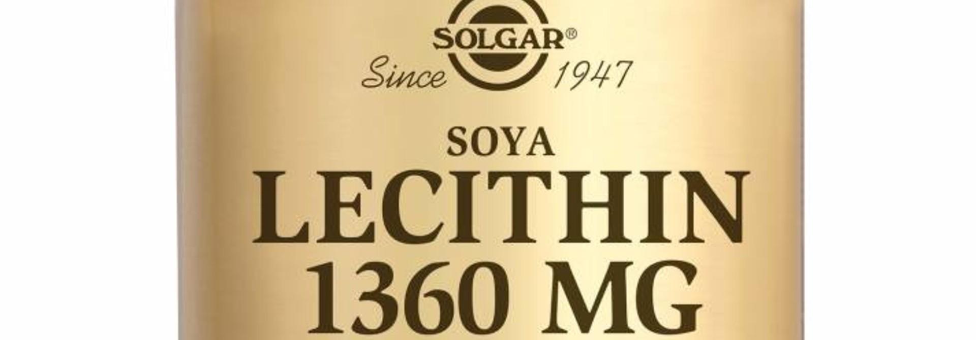 Lecithin 1360 mg 100 softgels
