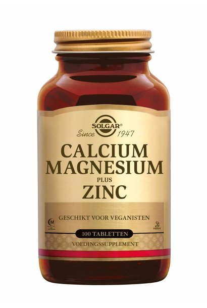 Calcium Magnesium plus Zinc 100 tabletten