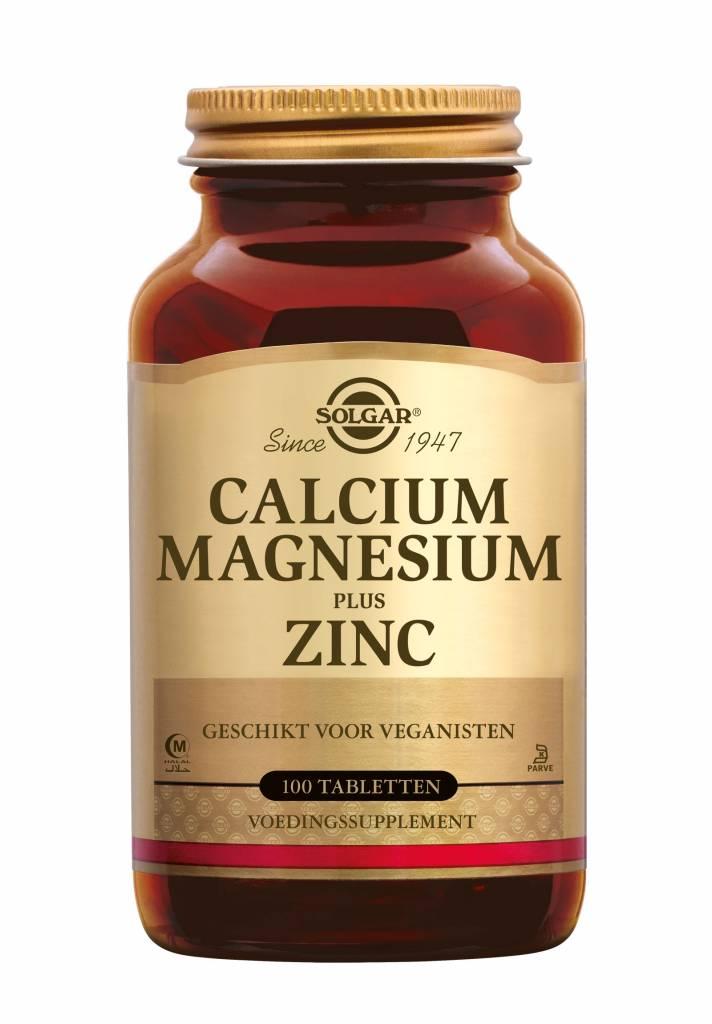 Calcium Magnesium plus Zinc 100 tabletten-1