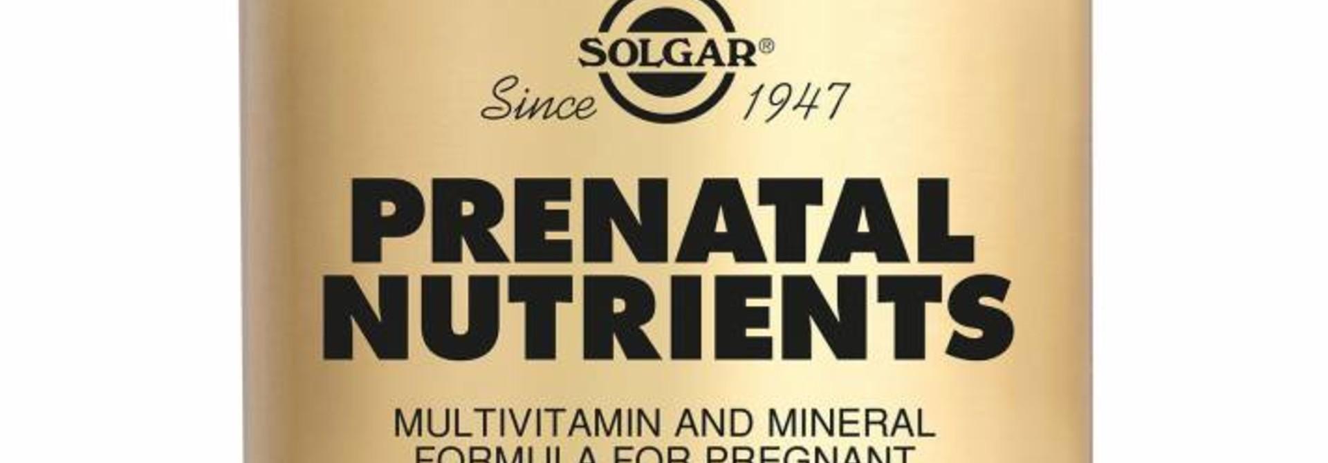 Prenatal Nutrients 120 tabletten