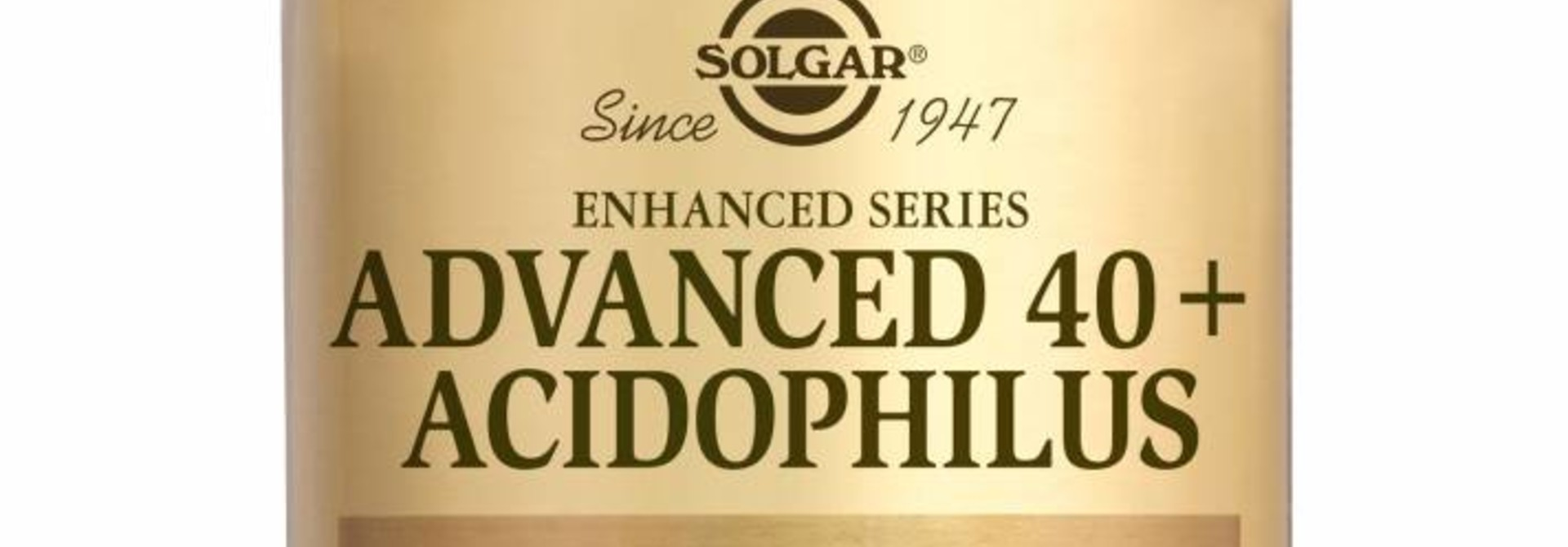 Advanced 40+ Acidophilus 60 plantaardige capsules