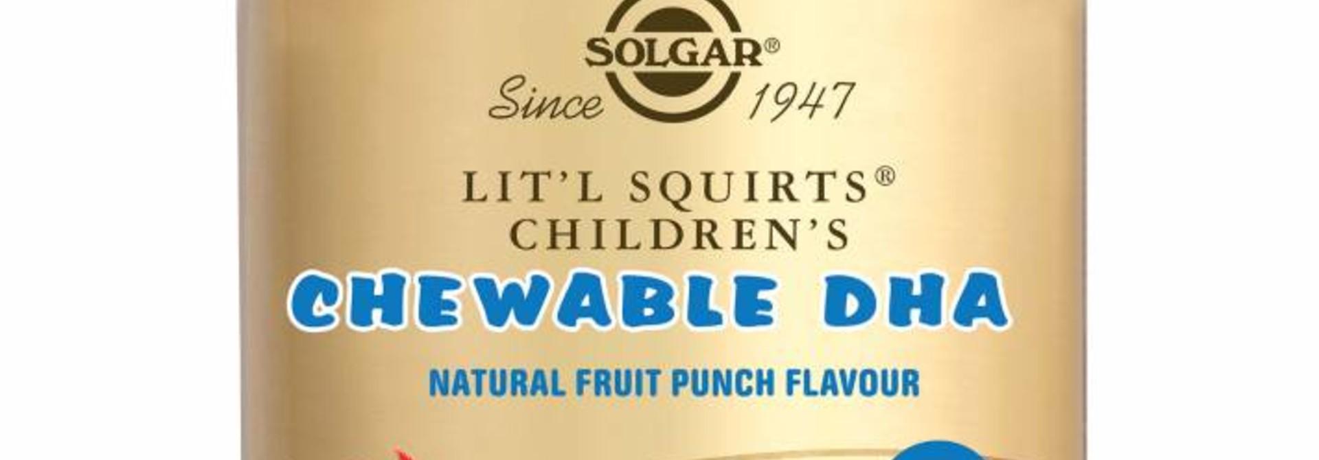 Lit'l Squirts® Children's Chewable DHA 90 kauwbare softgels