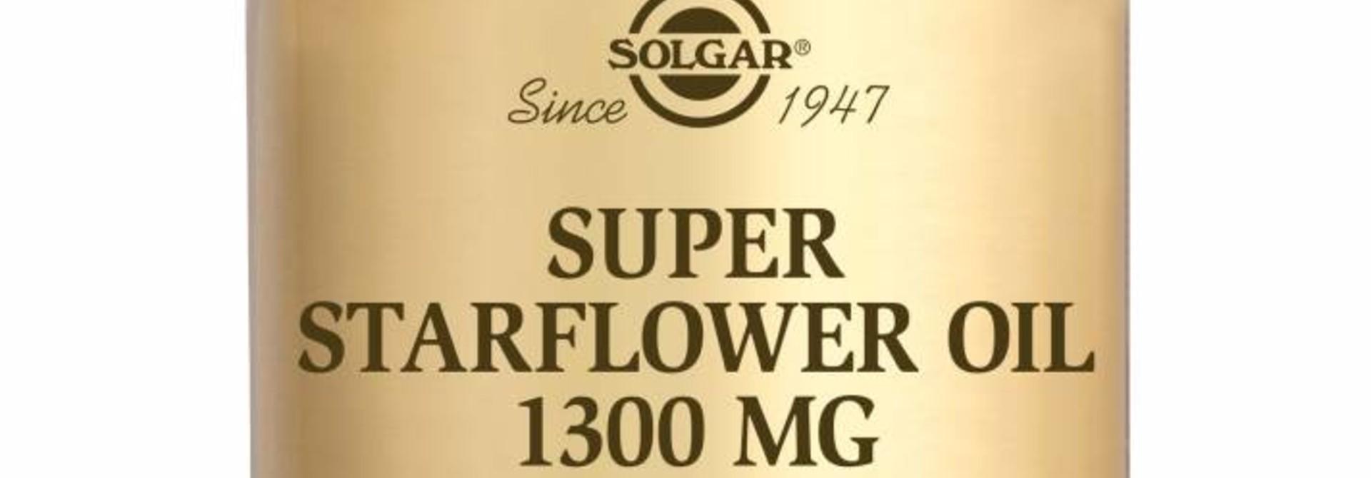 Super Starflower Oil 1300 mg (300 mg GLA) 30 softgels