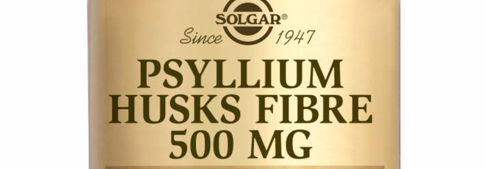 Psyllium Husks Fibre 500 mg 200 plantaardige capsules