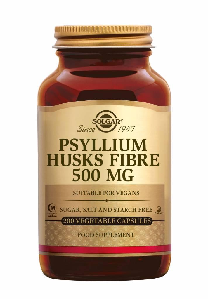 Psyllium Husks Fibre 500 mg 200 plantaardige capsules-1