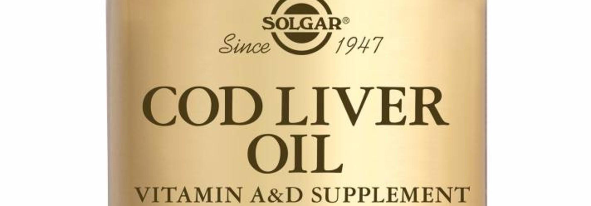 Cod Liver Oil 100 softgels