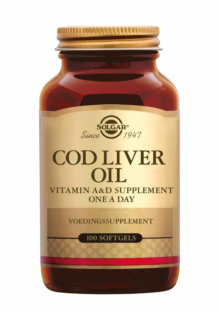 Cod Liver Oil 100 softgels-1