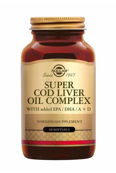 Super Cod Liver Oil Complex 60 softgels