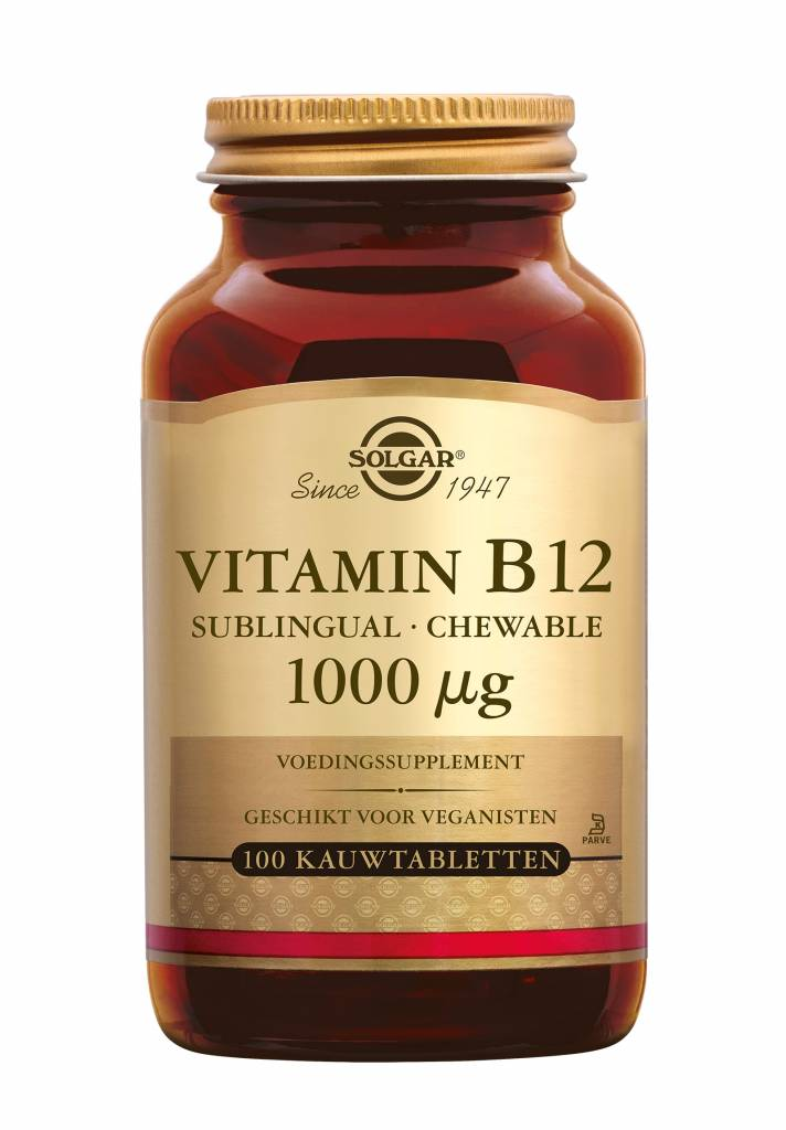 Vitamin B-12 1000 µg 100 kauwtabletten-1