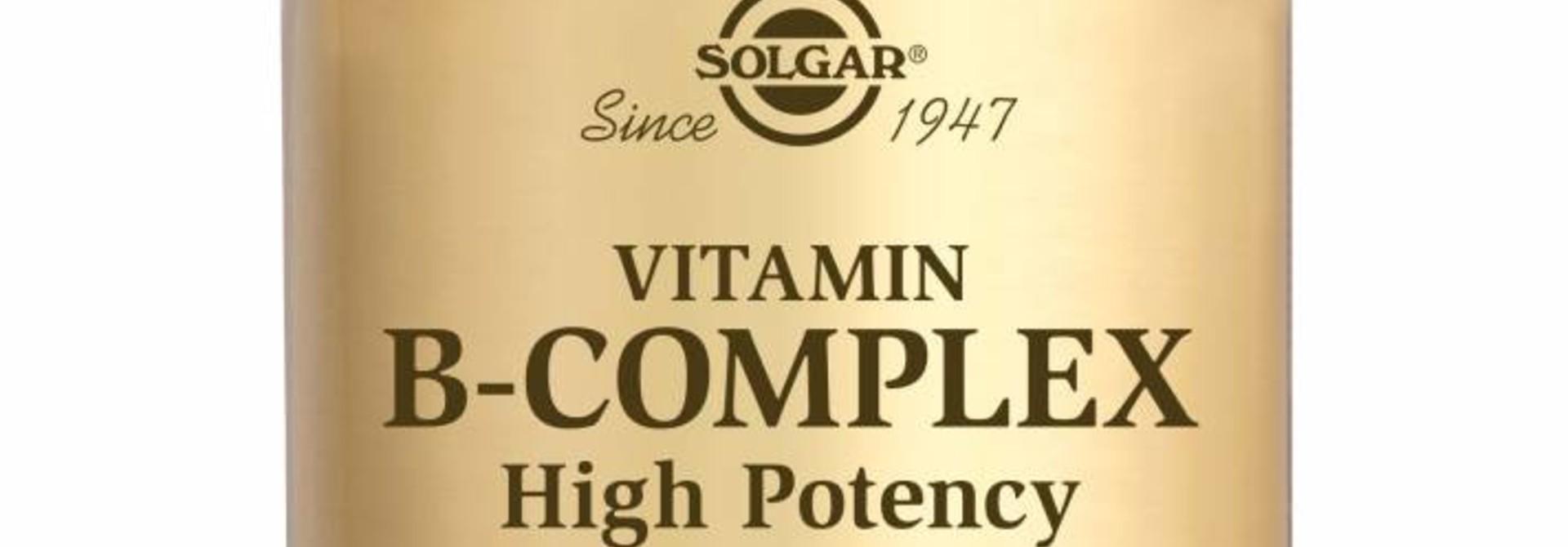 Vitamin B-complex 50 plantaardige capsules