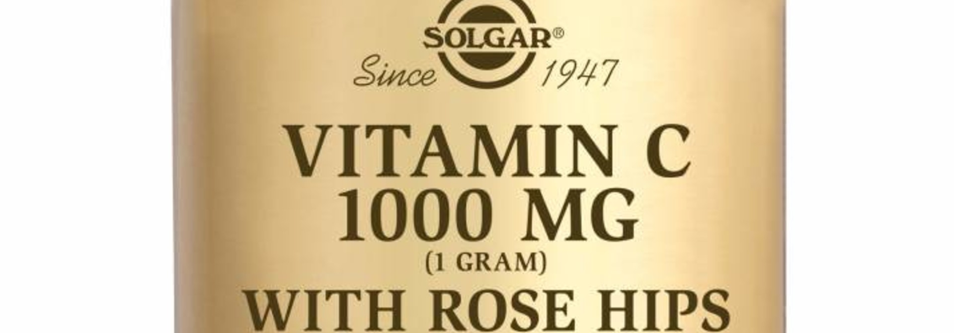 Vitamin C with Rose Hips 1000 mg 100 tabletten