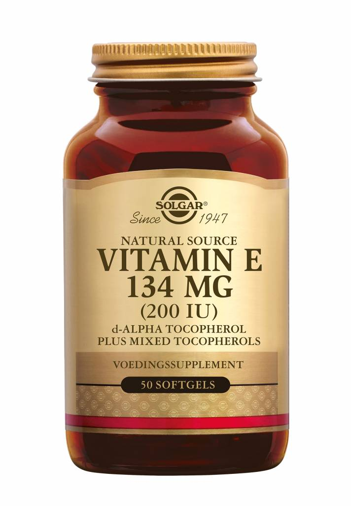 Vitamin E 134 mg/200 IU Complex 50 softgels-1