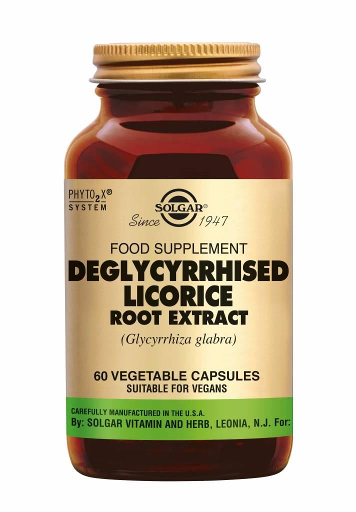 Deglycyrrhised Licorice Root Extract 60 plantaardige capsules-1