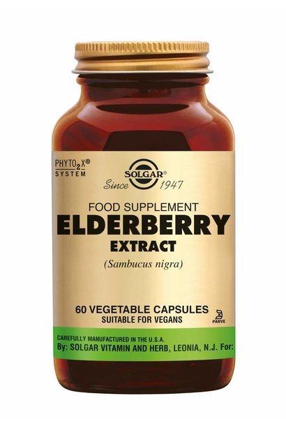 Elderberry Extract 60 plantaardige capsules