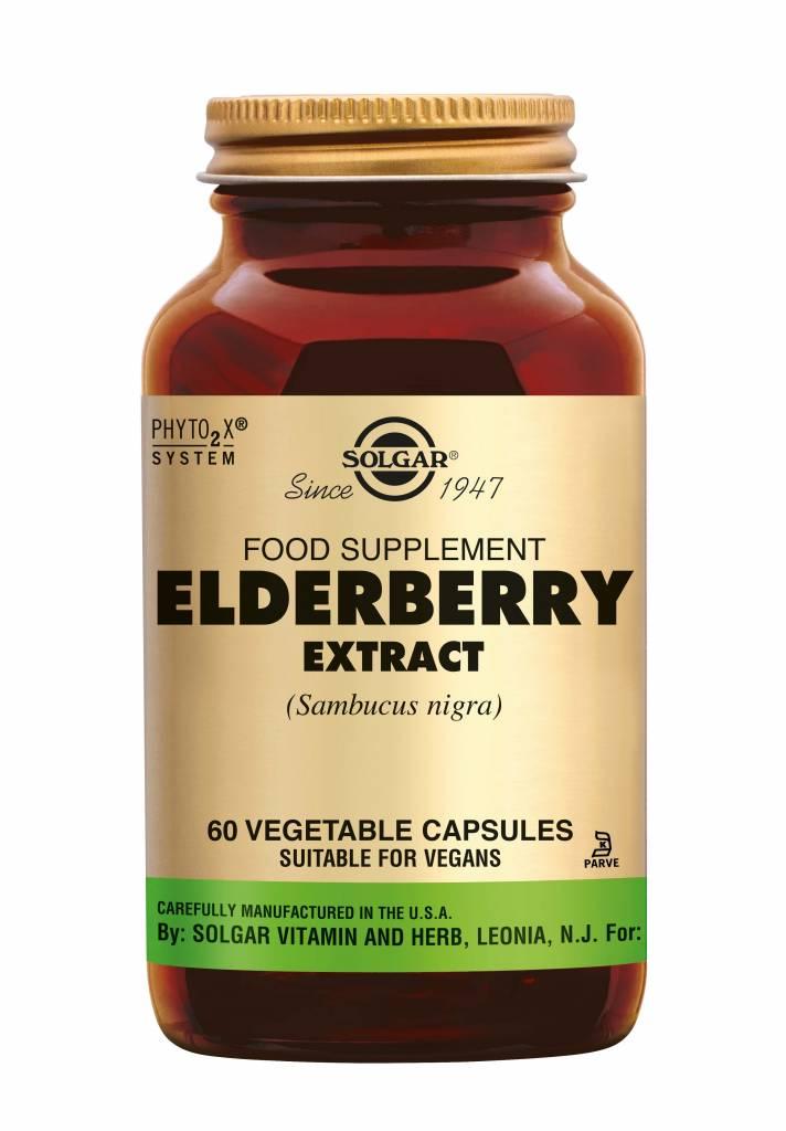 Elderberry Extract 60 plantaardige capsules-1