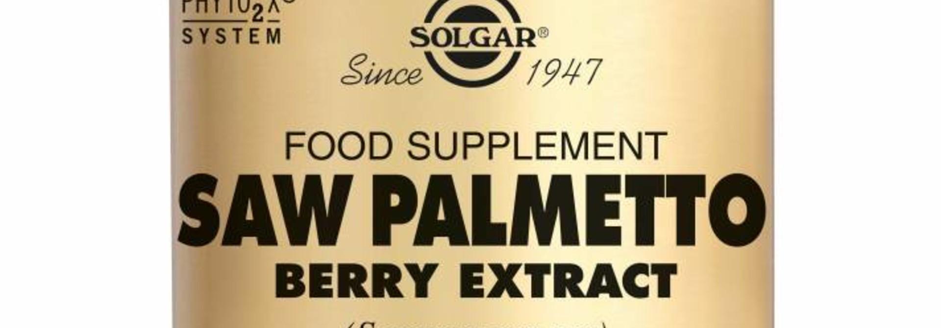 Saw Palmetto Berry Extract 60 plantaardige capsules