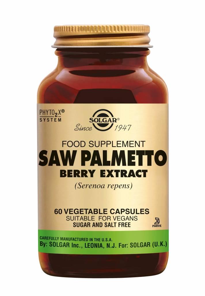 Saw Palmetto Berry Extract 60 plantaardige capsules-1