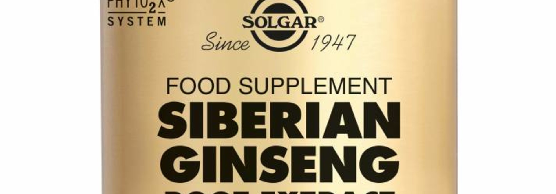 Ginseng Siberian Root Extract 60 plantaardige capsules