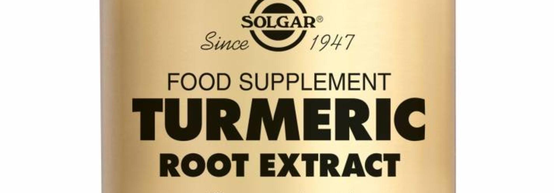 Turmeric Root Extract 60 plantaardige capsules