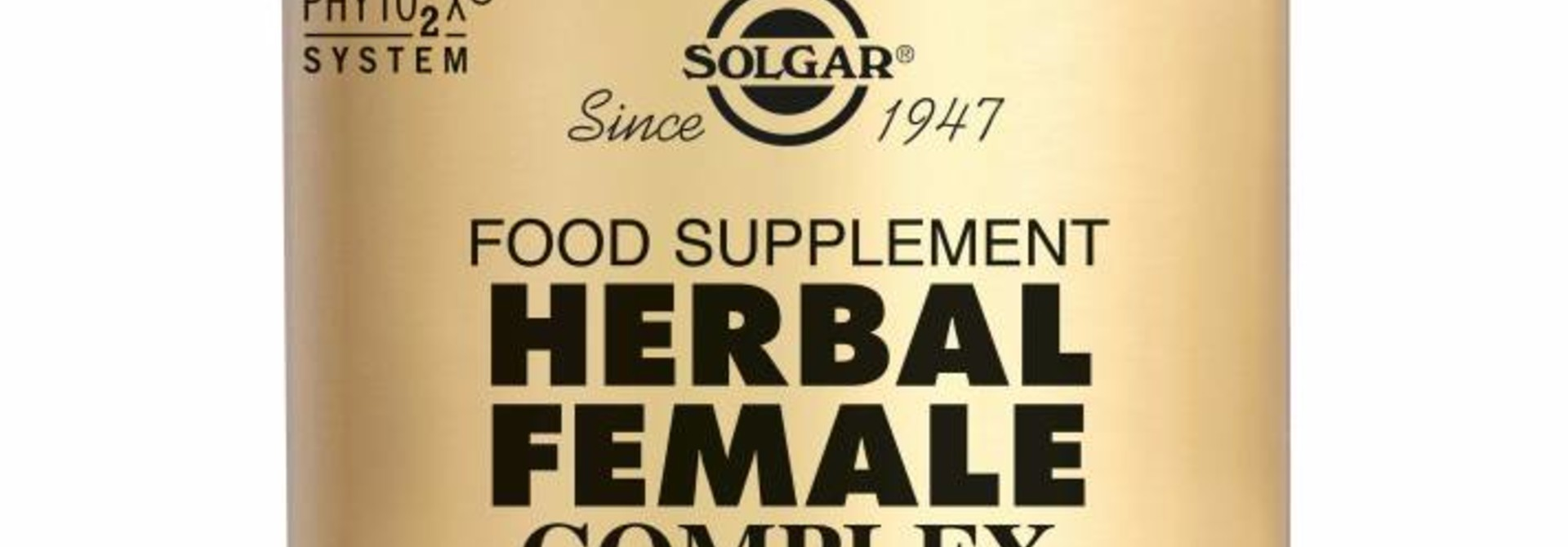 Herbal Female Complex 50 plantaardige capsules