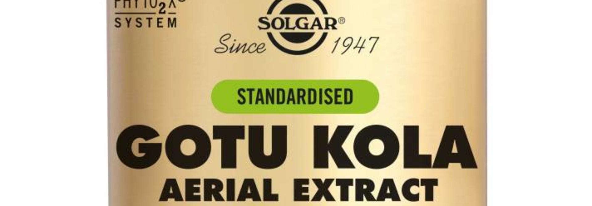 Gotu Kola Aerial Extract 100 plantaardige capsules