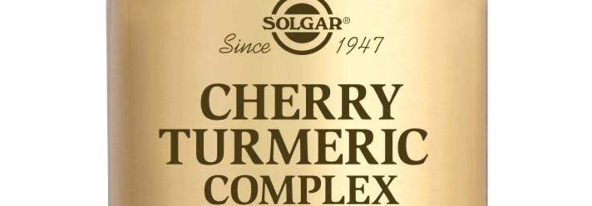 Cherry Turmeric Complex 60 plantaardige capsules