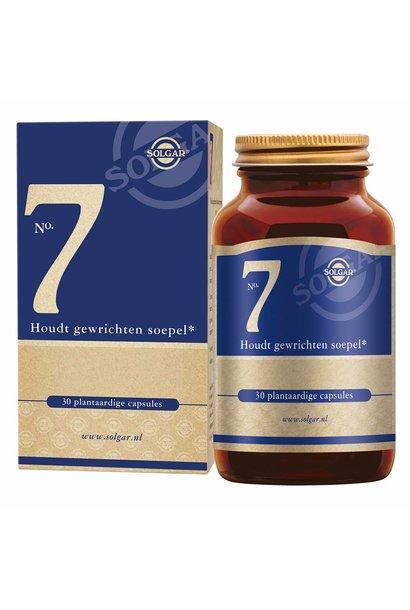 No. 7 30 plantaardige capsules