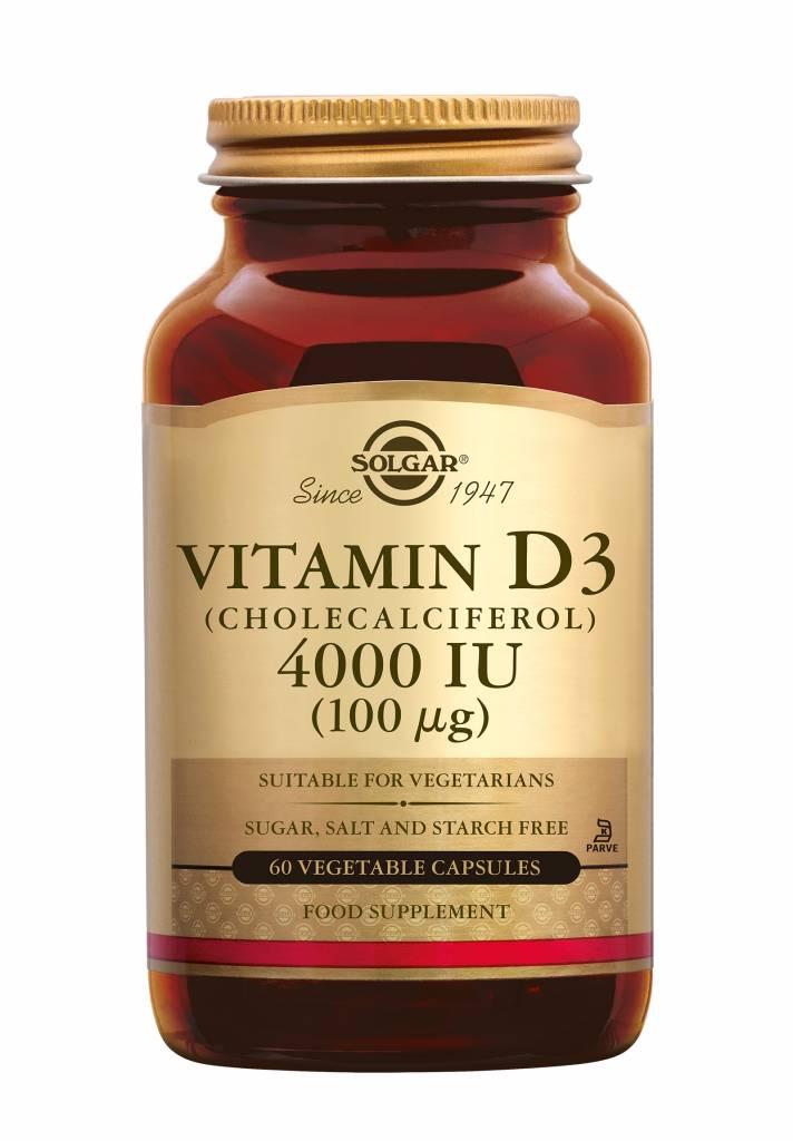 Vitamin D-3 4000 IU /100 µg 60 plantaardige capsules-1