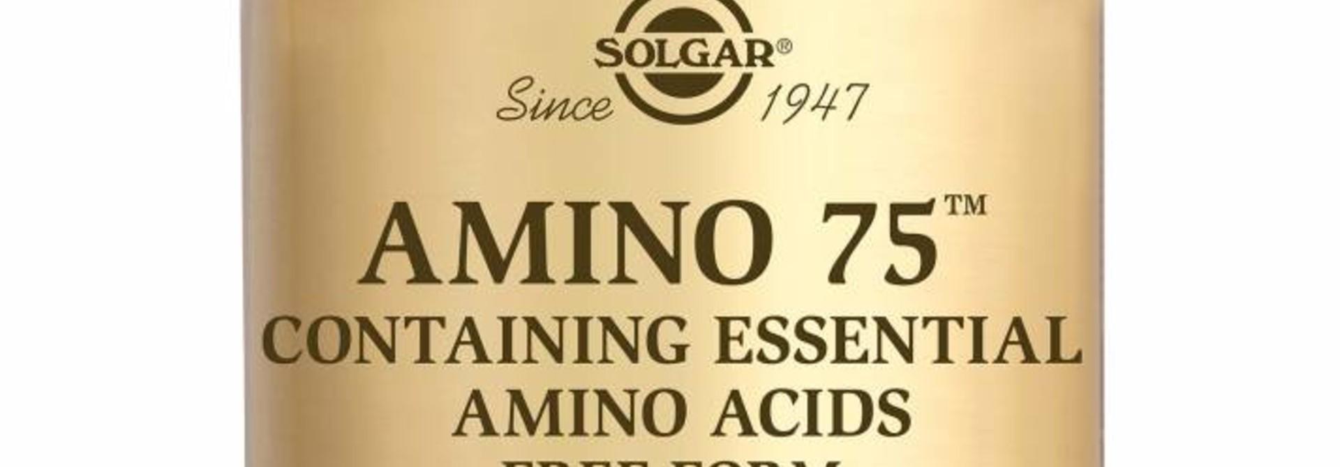 Amino 75™ 90 plantaardige capsules