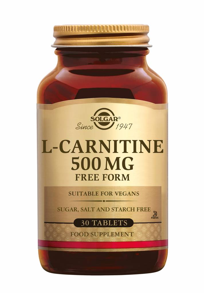 L-Carnitine 500 mg 60 tabletten-1