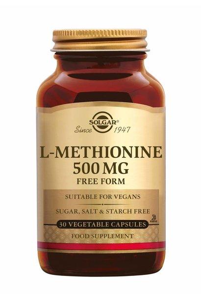 L-Methionine 500 mg 30 plantaardige capsules